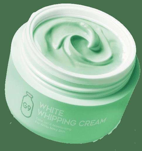 ホワイトホッピングクリーム シカクリーム テクスチャー